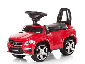 Chipolino Mercedes Benz GL63 AMG Rutschauto mit MP3 - Red 2016
