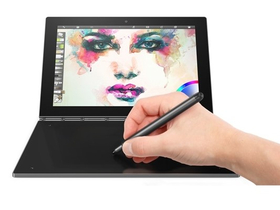 Tableta Lenovo Yoga Book YB1-X90L (ZA0W0000HU) 64GB Wi-Fi + 4G/LTE, Grey (Android)