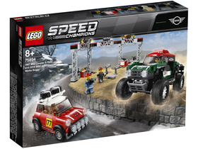 LEGO® Speed Champions 75894 1967 Mini Cooper S Rally i 2018 MINI John Cooper Works Buggy