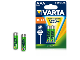Varta Ready2use Solar NiMh 550mAh AAA 2 ks
