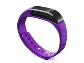 CellularLine BTEASYFITP Bluetooth fitness tracker karpánt, lila