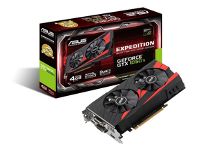 Placa video Asus nVidia GTX 1050 Ti 4GB DDR5  - STRIX-GTX1050TI-4G-GAMING