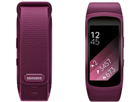 Samsung Gear Fit 2 е GPS спортна гривна Large, pink/purple