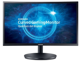 "Monitor Samsung C24FG70FQ 24"" Gamer LED, curbat"