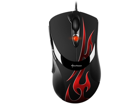 Mouse  Sharkoon FireGlider Optical gamer roșu (4044951013821)