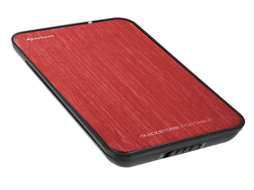 "Carcasă HDD Sharkoon QuickStore Portable 2,5"" roșu  (4044951009930)"