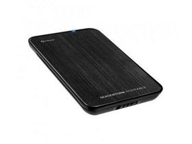 "Sharkoon QuickStore Portable Pro U3 2,5"" Sata HDD box USB3.0"