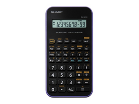 "Calculator Sharp ""EL-501XVL"" 131 functii, mov"