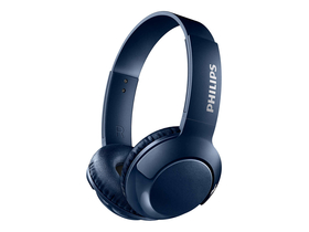 Casti Philips SHB3075BL Bluetooth, albastru