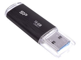 Silicon Power Blaze B02 16GB USB 3.0 pendrive, fekete (SP016GBUF3B02V1K)