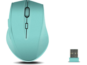 Mouse wireless Speedlink CALADO Silent cauciucat, turcoaz
