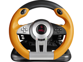 Volan Speedlink DRIFT O.Z. Racing Wheel PC, negru-portocaliu