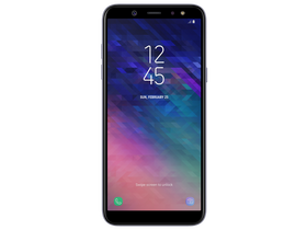 Samsung Galaxy A6 Dual SIM (SM-A600), Orchid Gray (Android)