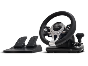 Volan Spirit of Gamer - RACE WHEEL PRO 2 compatibil PC / PS3/4 / XBOX One, negru