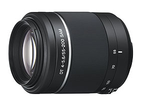 Sony 55-200mm / F4-5.6 DT SAM