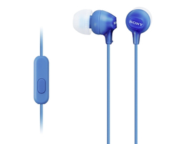 Headset Sony MDREX15APLI.CE7  Android/iPhone, albastru