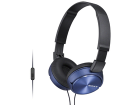 Headset Sony MDRZX310APL.CE7 Android/iPhone, albastru