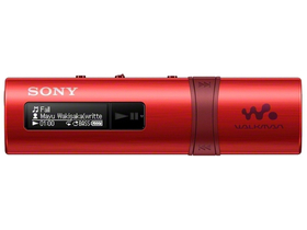 Sony NWZB183FR.CEW MP3 Walkman, rot