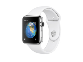 Apple Watch Series 2, 38mm white (mnp42mp/a)