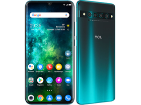 TCL 10 Pro 6GB/128GB Dual SIM Smartphone ohne Vertrag, Forest Mist Green