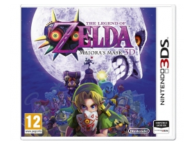 The Legend of Zelda: Majora`s Mask 3DS játék