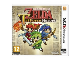 The Legend of Zelda: Tri Force Heroes 3DS játék