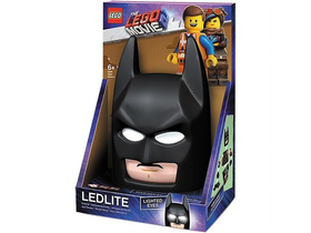 LEGO Movie 2 Batman Mask Wandleuchte mit Wandaufkleber