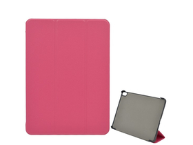 Gigapack Trifold Stand Up кожа Flip Side Cover Case за Apple Ipad Pro 11, Magenta