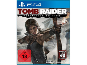Tomb Raider Definitive Edition PS4 játékszoftver