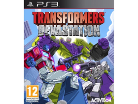 Joc software Transformers Devastation PS3