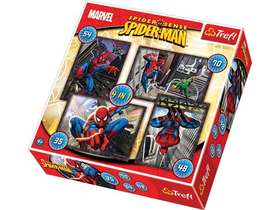 "Trefl ""Spiderman"" 4in1 puzzle"