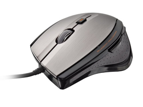 Mouse optic Trust MaxTrack 17178 negru-argintiu