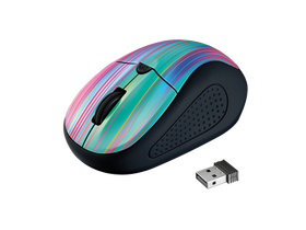 Mouse optic wireless Trust, negru-colorat