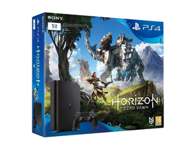 PlayStation4 Slim 1TB játékkonzol + Horizon Zero Dawn