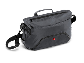 Geanta umar Manfrotto Advanced Pixi messenger DSLR/CSC, gri