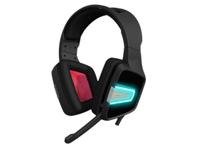 PATRIOT Viper V370 RGB USB gamer headset, čierny