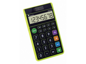 Calculator de buzunar Victoria, 8 digit, verde