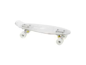 Skateboard luminat penny board, transparent