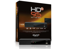 WayteQ HD-95 DVB-T přijímač a media player