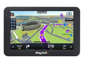 GPS WayteQ X985BT  + software hartă Sygic 3D Full-Europa
