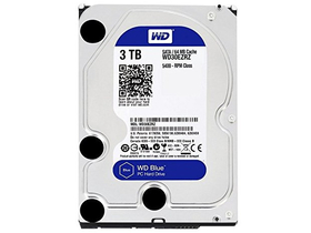 "Western Digital Blue 3000GB 3,5"" hrad disk (WD30EZRZ, 5400RPM, 64MB)"