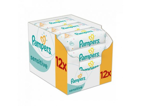Pampers  Sensitive vlažne maramice, 12x52