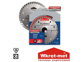 Wkret-met Medium Turbo gyémántkorong (125mm)