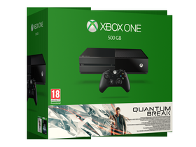 Xbox One 500 GB Quantum Break čierny konzol