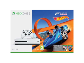 Xbox One S 500GB igralna konzola, bela + Forza Horizon 3 + Hot Wheels DLC