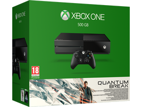 Xbox One 500 GB Quantum Break + Alan Wake konzol, fekete