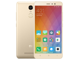 Xiaomi Redmi Note 3 Special Edition 3GB/32GB (Dual Sim), Arany (Android)