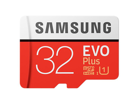 Samsung EVO Plus 32GB microSDHC UHS-I U1 95MB/s Full HD Memóriakártya adapterrel (MB-MC32GA)