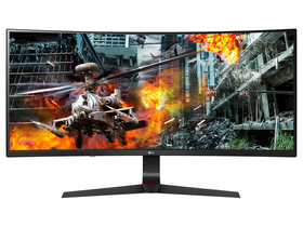 LG 34GL750-B FullHD 144Hz G-Sync IPS gamer LED monitor