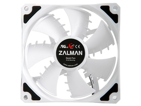 Вентилатор за процесор Zalman ZM-SF2 92mm, цвят: бял